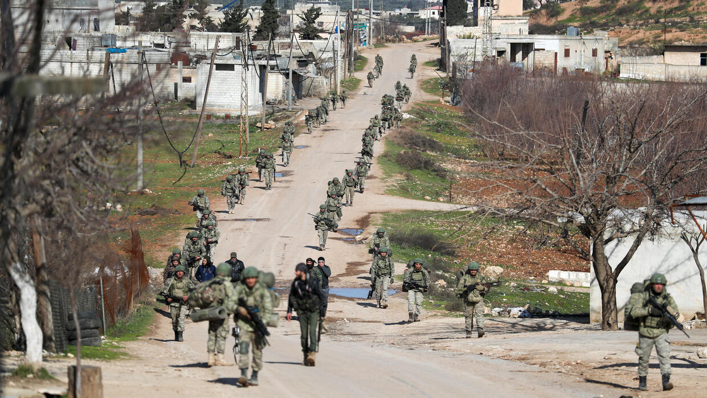Syrian army shelling kills five Turkish soldiers in Idlib