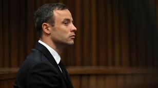 Oscar Pistorius au tribunal de Pretoria, en octobre 2014.