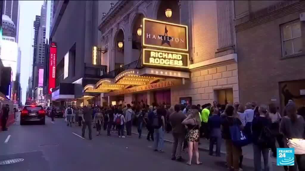 2021-09-15 15:10 Covid-19 aux États-Unis : Broadway rouvre ses portes après 18 mois de silence