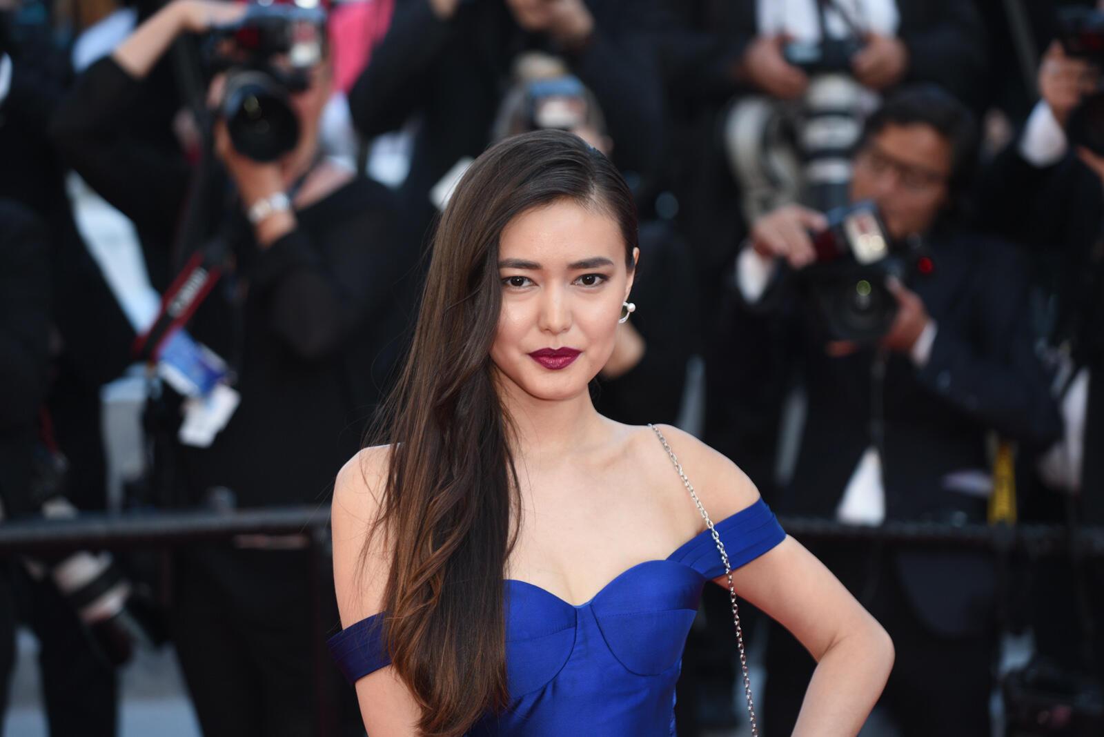 La actriz kazaja Dinara Baktybaeva está en Cannes para presentar su última película 'La tendre indifférence du Monde', proyectada en la selección paralela 'Un certain regard'.