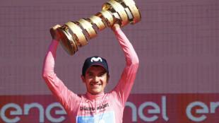Richard Carapaz is the defending Giro champion