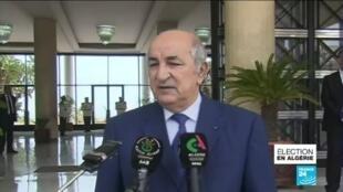 2019-12-13 12:13 Qui est Abdelmadjid Tebboune, le nouveau président de l'Algérie ?