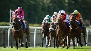 Cieren Fallon, son of riding legend Kieren, showed he is cut from the same cloth as he won his first Group One race on Oxted in the July Cup at Newmarket