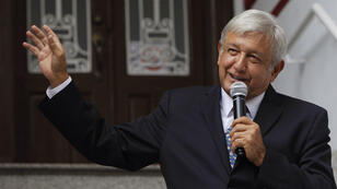 El presidente electo de México, Andrés Manuel López Obrador, propuso regularizar las drogas, aunque no tiene todavía un plan concreto. Ciudad de México, 31 de julio de 2018.