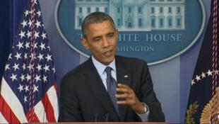 Barack Obama le 8 octobre 2013