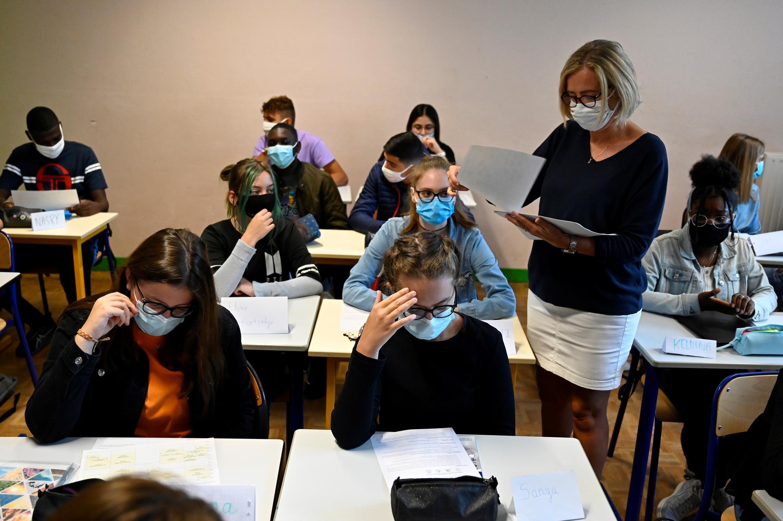 ecole-france-covid-coronavirus-masque-classe
