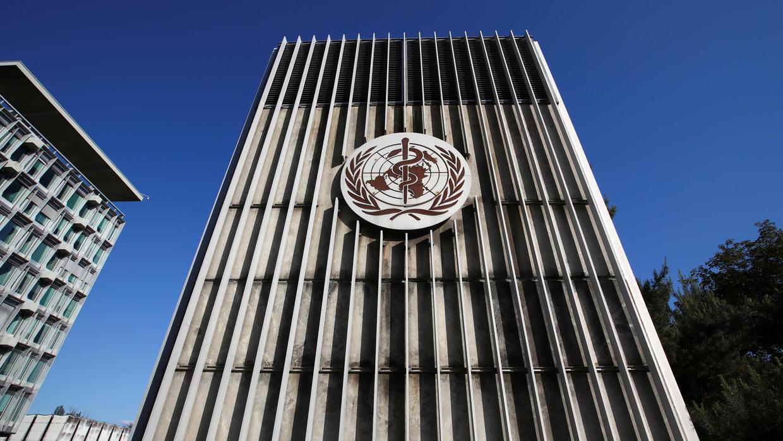 المقر العام لمنظمة الصحة العالمية بمدينة جنيف السويسرية