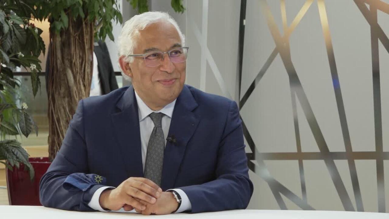The Interview - Portuguese PM calls Covid-19 vaccine patent waivers 'false debate'