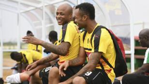 Les frères Ayew de l'équipe du Ghana ont l'occasion de se qualifier pour les quarts samedi s'ils battent le Mali.