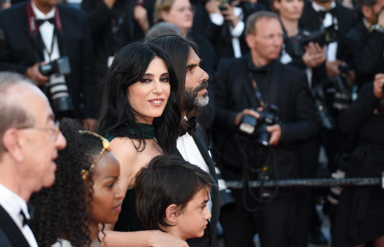 La directora libanesa Nadine Labaki está en la Croisette para su última película, 'Capharnaüm', presentada en la competencia oficial de este la 71ª edición del Festival de Cine de Cannes.