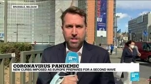 2020-09-24 13:08 Coronavirus pandemic: EU urges new measures to head off virus second wave