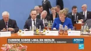 África 7 Días cumbre ONU Libia