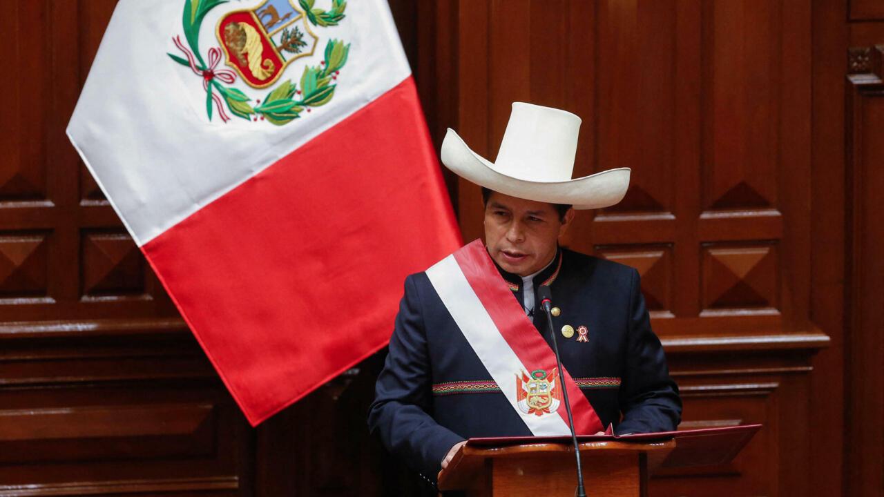 Peru's Castillo assumes presidency, vows to bridge social divide