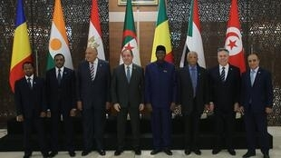 Foreign Ministers and officials from countries neighbouring Libya Algeria January 23, 2020. REUTERSR