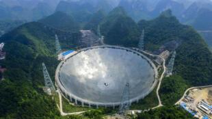 La radio télescope Fast.