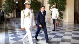 Giuseppe Conte a présenté son nouveau gouvernement au président italien, Sergio Mattarella, mercredi 4 septembre.