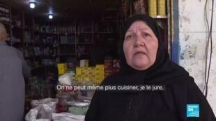 """2020-06-12 16:13 En Syrie, la dévaluation provoque manifestations et craintes d'une """"famine"""""""