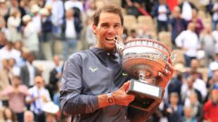Rafael Nadal, désormais dodécuple vainqueur de Roland-Garros.