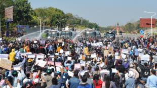 Birmanie manifestations