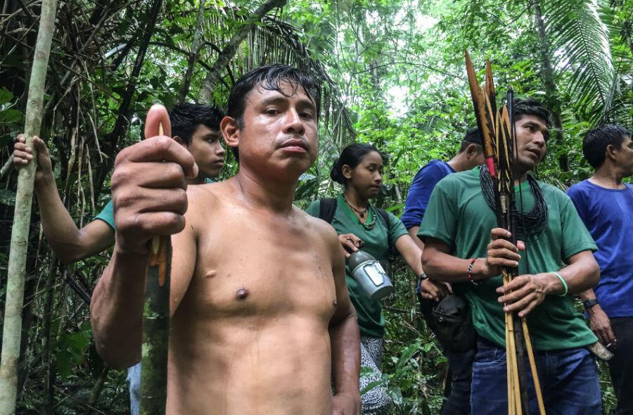 """Ari Uru-eu-wau-wau, un """"gardien de la forêt"""", assassiné le 18 avril dernier dans l'état de Rondônia."""