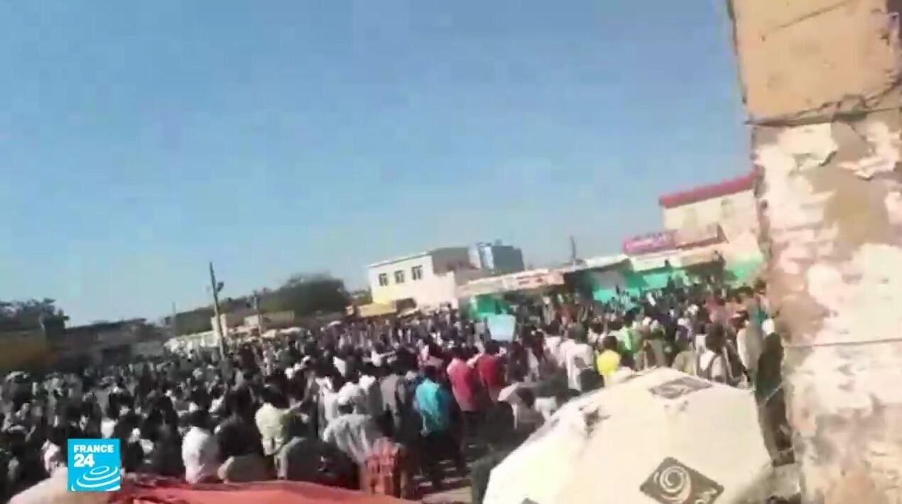 مظاهرات احتجاج على غلاء المعيشة في السودان