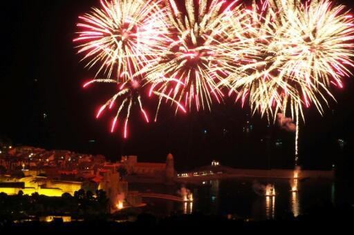 Nine hurt in accident at fireworks show in French resort