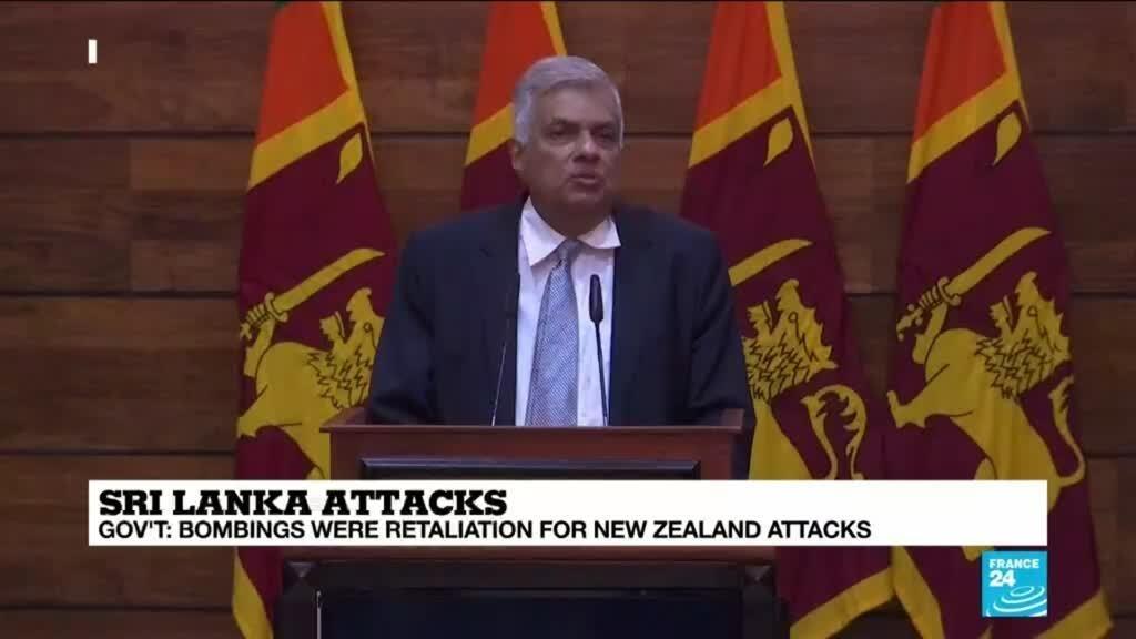 Sri Lankan PM Ranil Wickremesinghe discusses the Easter attacks