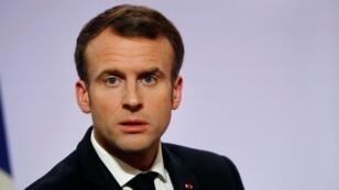 Emmanuel Macron le 21 novembre 2018 à Paris.