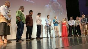 La 17e édition du Festival international du film océanien (Fifo) s'est tenu vendredi 7 février 2020 à Papeete (Tahiti).
