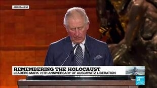 "2020-01-23 15:09 Prince Charles: ""The Holocaust must never be allowed to become simply a fact of history"""