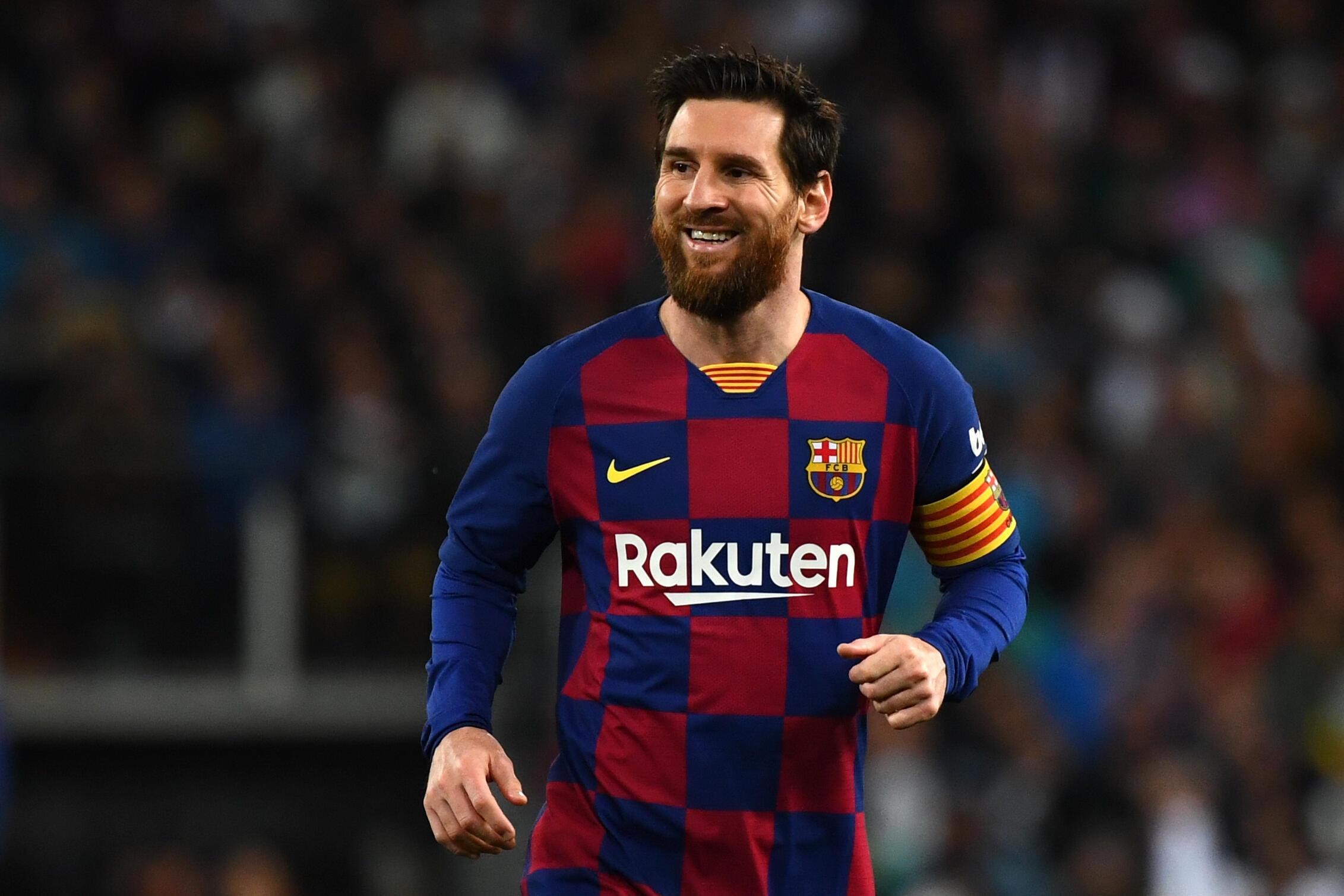 Lionel Messi avec le Barça, lors du dernier clasico contre le Real Madrid disputé au stade Santiago Bernabeu, le 1er mars 2020.