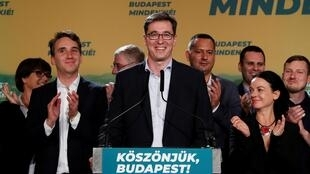 Gergely Karacsony a été élu maire de Budapest dimanche 13 octobre 2019.