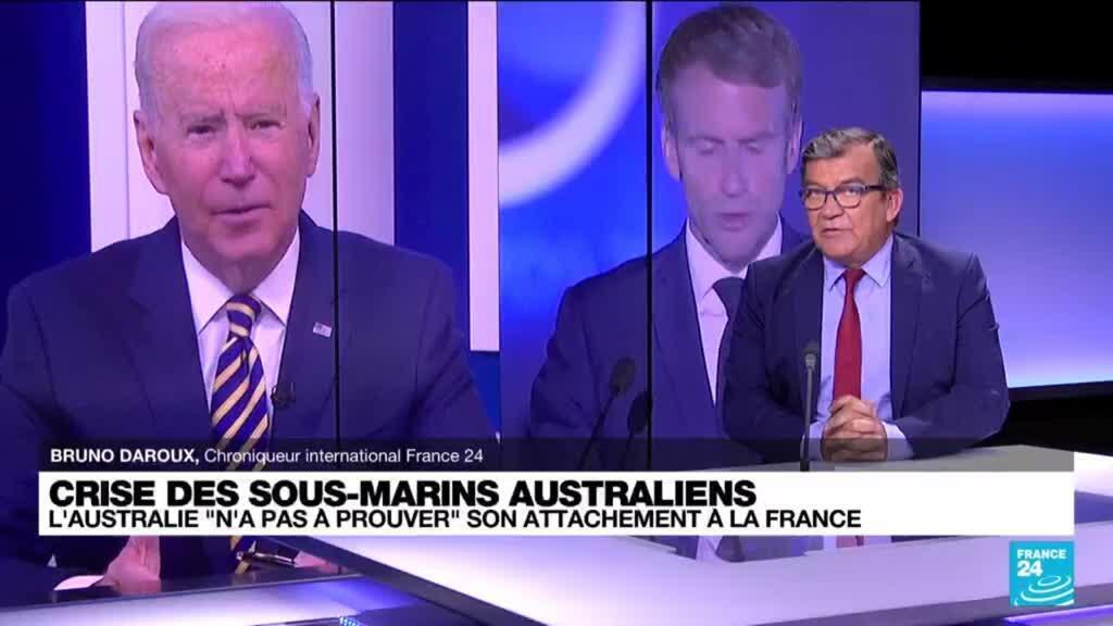 2021-09-20 17:02 La France abandonnée par ses partenaires européens dans la crise des sous-marins ?