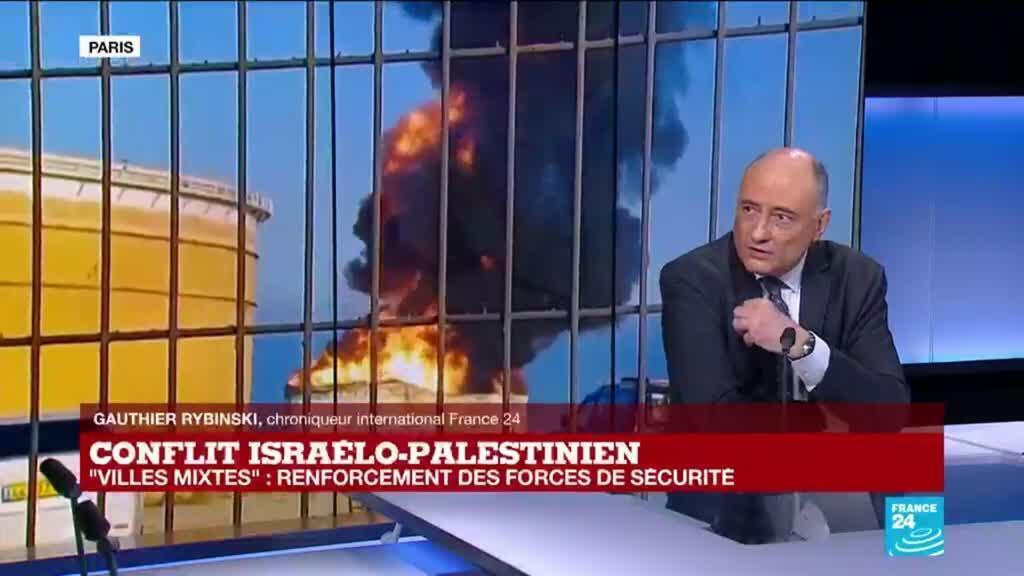 """2021-05-13 14:33 Conflit israelo-palestinien : nouvelles émeutes dans les """"villes mixtes"""""""
