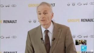 2020-05-29 11:00 Le président de Renault confirme le projet de fermeture du site de Choisy-le-Roi