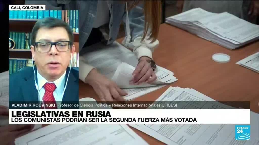 """2021-09-19 22:01 Vladimir Rouvinski: """"El Partido Comunista es el mayor ganador de las legislativas en Rusia"""""""