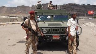 Yemeni tribesmen pictured on March 16.