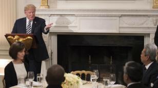 Pour la première fois de son mandat, Donald Trump a organisé un iftar à la Maison Blanche, mercredi 6 juin.
