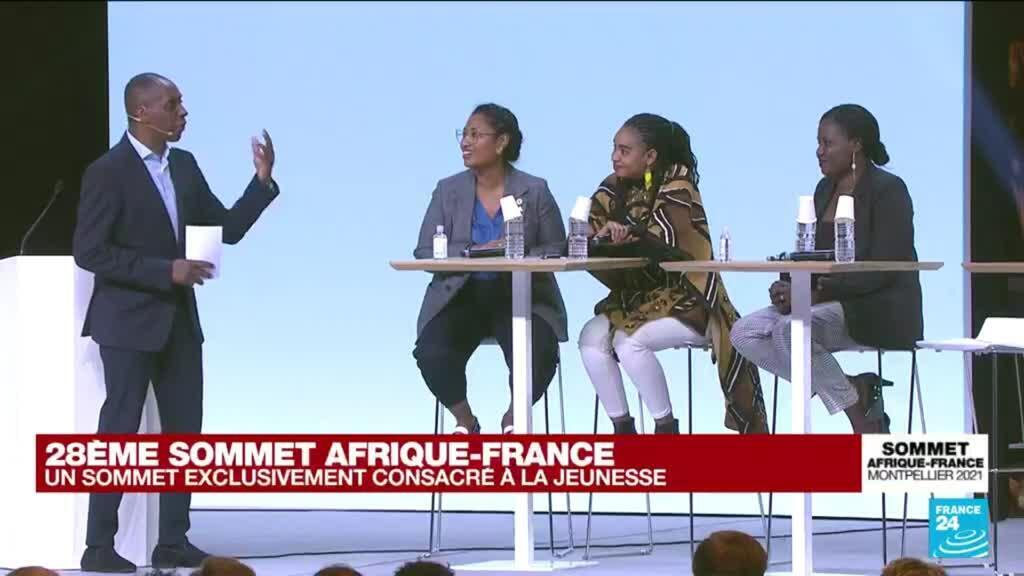 2021-10-08 16:12 Au sommet Afrique-France, les doutes, les espoirs, la colère de jeunes africains