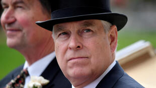 Prince Andrew at the Royal Ascot on June 20, 2019.
