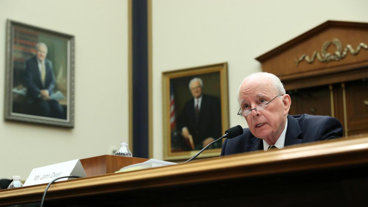 El ex consejero de la Casa Blanca comparece ante el Comité Judicial de la Cámara de Representantes el 10 de junio de 2019.