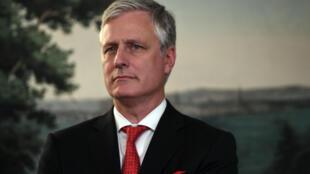 File photo of National Security Adviser Robert O'Brien