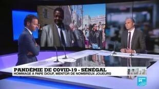 2020-04-01 12:11 Pape Diouf emporté par le Covid-19, son nom restera à jamais associé à Marseille