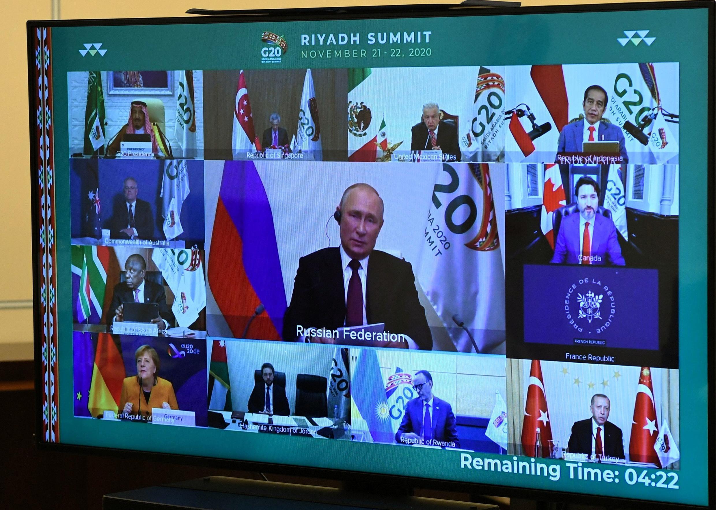G20 SAUDI ARABIA PUTIN CORONAVIRUS