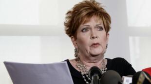 Beverly Young Nelson, la quinta mujer en denunciar por acoso sexual al republicano Roy Moore.