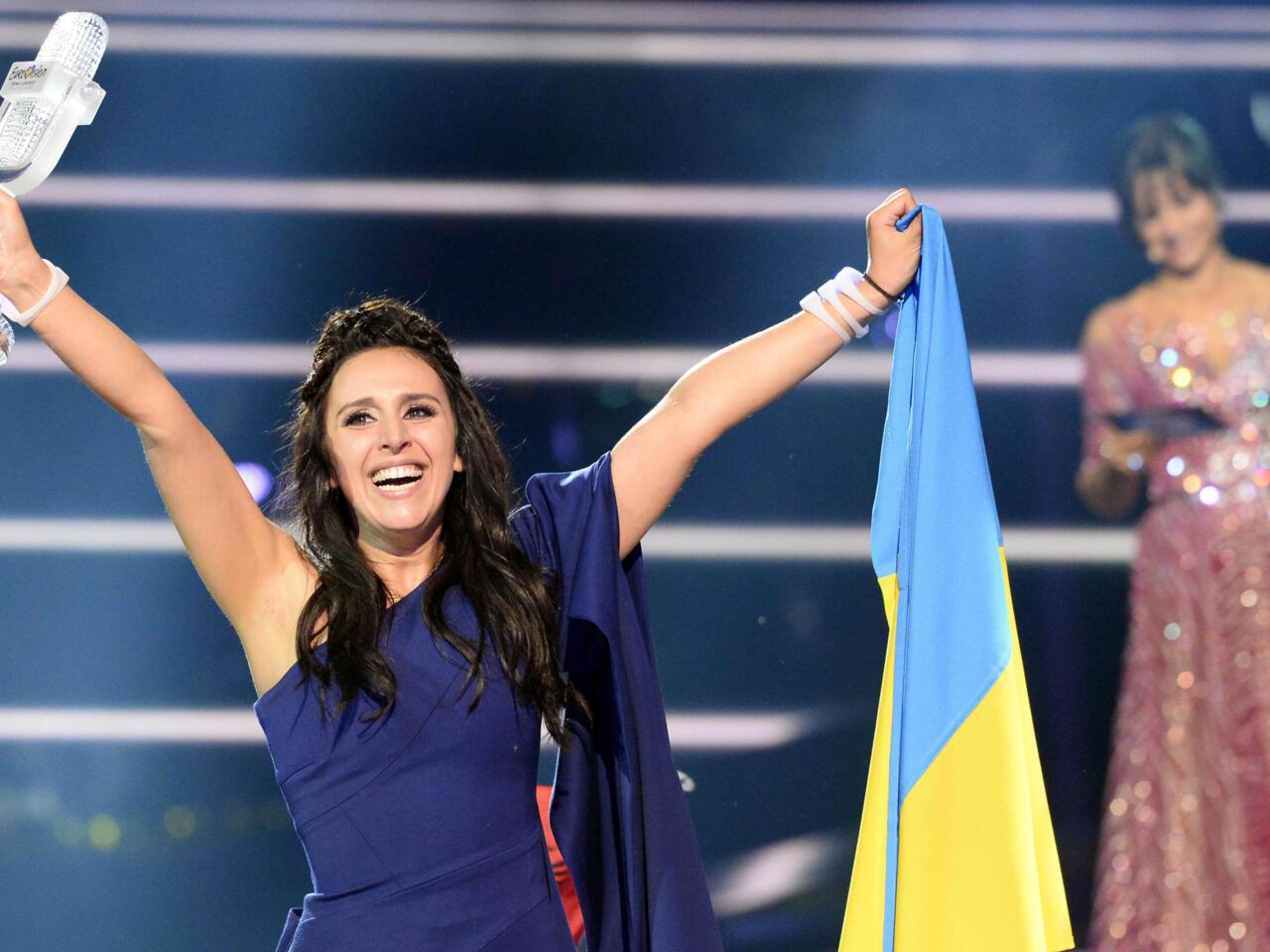 Ukraine's Jamala wins 2016 Eurovision Song Contest