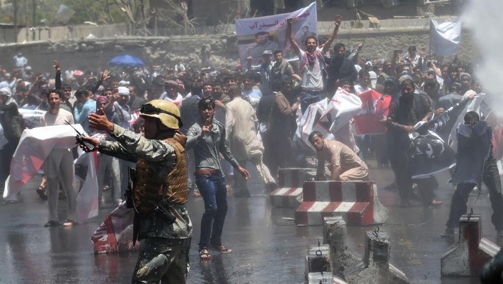 مظاهرات في كابول،  2 يونيو/ حزيران 2017