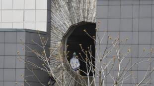 The Saint George hospital had been repurposed to treat coronavirus patients