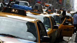 New York's iconic taxis (file photo)