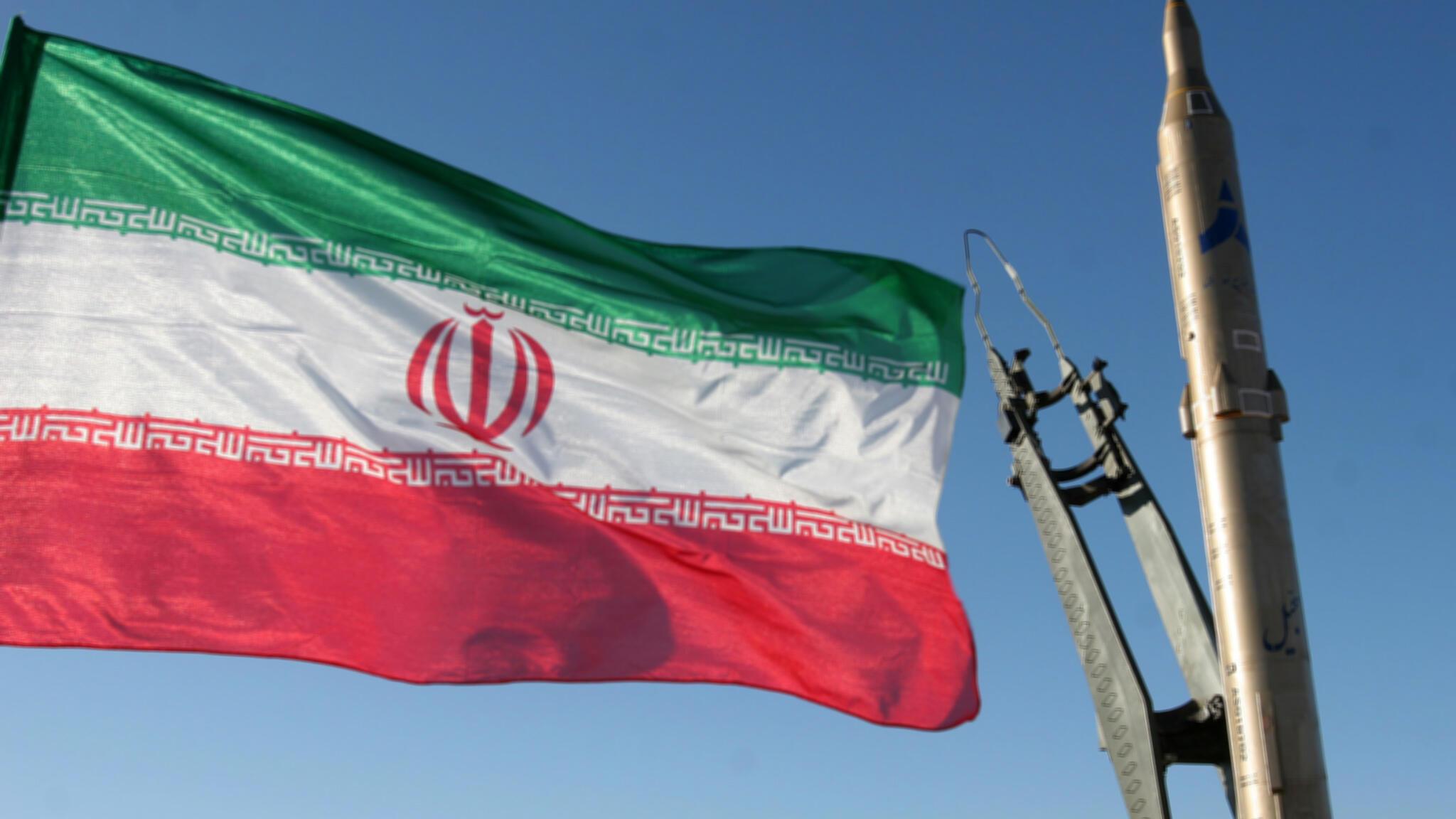 """Un navire de guerre iranien a été accidentellement """"frappé par un missile"""" lors d'un exercice naval dans le golfe d'Oman, le 10 mai 2020."""